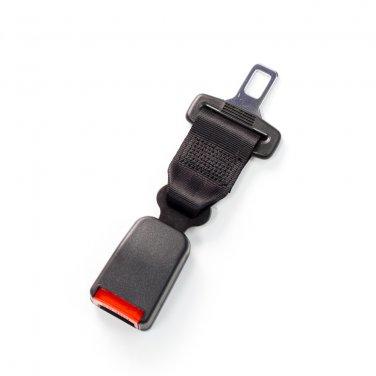"7"" Seat Belt Extender - Type X - Black"