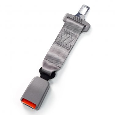 "10"" Seat Belt Extender - Type W - Gray"