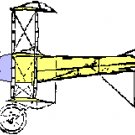 NEW - Aircraft 3-View Drawings by Velivoli: V.1 Caproni Pensuti