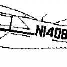 "NEW - Aircraft 3-View Drawings by Velivoli: V.28 W.J. Fike's model  ""E"""