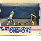 NEW -Starting Lineup© 1997 Freeze Frame Sundin & Bourque Hockey Action Figures
