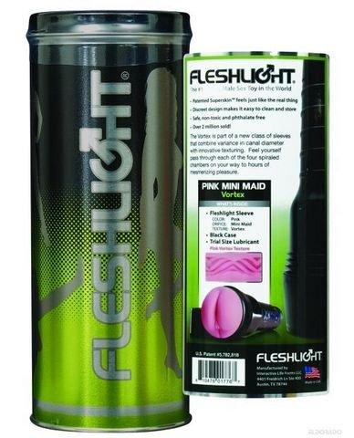 Fleshlight pink mini maid vortex sex toys masturbators for men