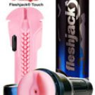 Vibro Pink Bottom Touch Fleshlight sex toy masturbator for men