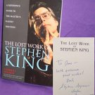 Lost Work of Stephen King by Stephen Spignesi - SIGNED