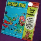 PETER PAN RECORDS PETER PAN BOOK & 45 RPM - SEALED 1981