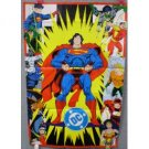 DC COMICS SUPERHEROES POSTER (Folded)