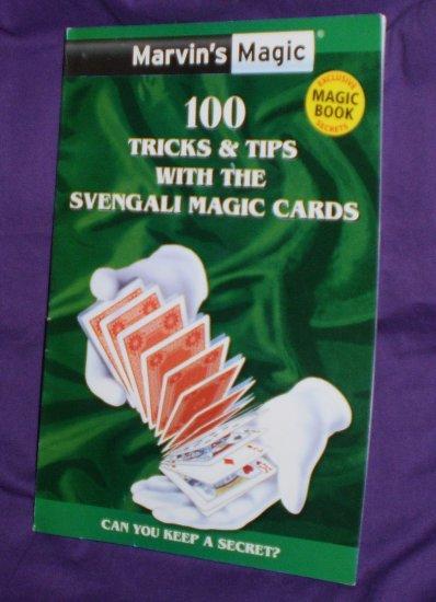 Marvin's Magic 100 Tricks...(Use with Svengali Cards)