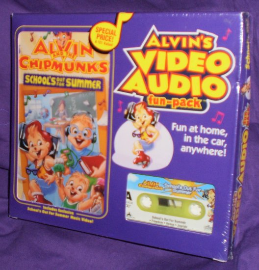 Alvin and the Chipmunks Video/Audio Funpack