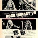 BLACK SABBATH Vol.4 LP magazine advert Japan #3 + MAMA LION LEON RUSSELL ROD STEWART LOBO [PM-100]