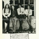 THIN LIZZY magazine clipping Japan 1976 #3 [PM-100]