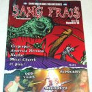 SANG FRAIS French-Canadian punk metal zine Quo Vadis Hypocrisy Megadeth Iron Maiden 2005 [MX-250]