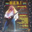 MEAT Canada metal mag #35 Megadeth Black Sabbath Dream Theater Faith No More [MX-250]