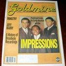 GOLDMINE #331 Curtis Mayfield Ministry Jeff Barry April 2, 1993 [SP-500]