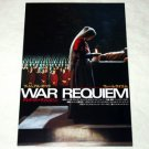 WAR REQUIEM Derek Jarman gatefold movie flyer Japan [PM-100f]
