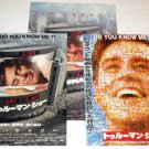 THE TRUMAN SHOW movie program + two flyers Japan - Jim Carrey, Ed Harris, Laura Linney [MX-250]