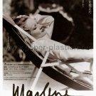 MARLENE DIETRICH: HER OWN SONG movie flyer Japan [PM-100f]