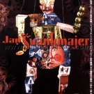 Jan Svankmajer 12-film retrospective flyer Japan 2001 [PM-100f]