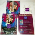 HOUSE OF FLYING DAGGERS flyers Japan - Takeshi Kaneshiro, Zhang Ziyi, Andy Lau [PM-100f]