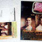 FIGHT CLUB David Fincher Chuck Palahniuk movie flyer & card Japan - Brad Pitt Ed Norton [PM-100f]