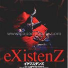 eXistenZ David Cronenberg movie flyer & sticker Japan [PM-100f]
