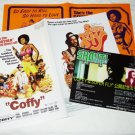 COFFY / SWITCHBLADE SISTERS / SUPERFLY movie flyers Japan [PM-100f]