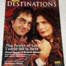 Atom Egoyan Arsinee Khanjian Dominique Michel VIA magazine 2007 Canada [PM-200]