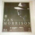 VAN MORRISON Toronto concert advertisement Canada 2004 [SP-250t]