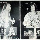 VAN HALEN magazine clipping Japan 1984 #1 - live in USA [PM-100]