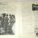 THE ROMANTICS magazine clipping Japan 1984 - exclusive photos [PM-100]