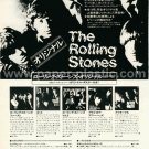 THE ROLLING STONES 14 reissue LP advertisement Japan #1 [PM-100]