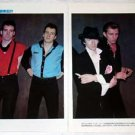 THE CLASH magazine clipping Japan 1980 [PM-100]