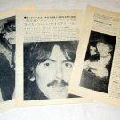 THE BEATLES magazine clipping Japan 1970 #4 - GEORGE HARRISON & PATTI BOYD [PM-100]