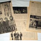 THE BAND magazine clipping Japan 1978 #2 [PM-100]
