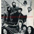 THE BAND / URIAH HEEP magazine clipping Japan 1972 #1 [PM-100]