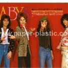THE BABYS magazine clipping Japan 1978 #1 [PM-100]