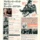 TEN YEARS AFTER Alvin Lee & Company LP advert Japan #2 + AL GREEN, TRAFFIC, ROLLING STONES [PM-100]