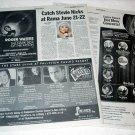 STEVIE NICKS newspaper clippings Canada 2007 + ROGER WATERS, THE VENTURES, HUMPERDINCK [SP-250t]