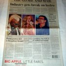 SLY STONE MARIAH CAREY BONO U2 Canadin newspaper Feb. 2006 [SP-250t]