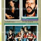 RINGO STARR magazine clipping Japan 1976 #3 + SIMON KIRKE [PM-100]