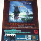 REPTILIAN Castle of Yesterday CD advertisement Japan 2001 + ALLEN [PM-200]