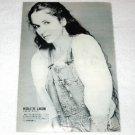 NICOLETTE LARSON magazine clipping Japan 1982 [PM-100]