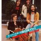 NATURAL GAS mag clipping Japan 1976 BADFINGER, QUIVER, URIAH HEEP, COLLOSEUM, HUMBLE PIE [PM-100]