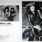 MOTLEY CRUE magazine clipping Japan 1984 [PM-100]