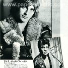 MIKE OLDFIELD / HERMAN BROOD magazine clipping Japan 1981 [PM-100]