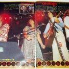 LINDA RONSTADT magazine clipping Japan 1977 #2 + EAGLES, JACKSON BROWNE, DAVID LINDLEY [PM-100]