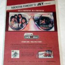JET Vancouver concert advertisement Canada 2005 [PM-100]