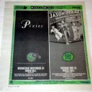 JASON MRAZ / PIXIES Toronto concert advertisements Canada 2004 [SP-250t]