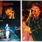 INXS magazine clipping Japan 1984 - exclusive live photos [PM-100]
