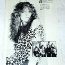 HEADPINS DARBY MILLS magazine clipping Japan 1984 [PM-100]