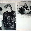 HALL & OATES magazine clipping Japan 1984 #2 [PM-100]